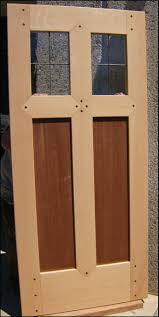 Solid Timber Front Door by Heart Of Oak Workshop Authentic Craftsman U0026 Mission Style Doors