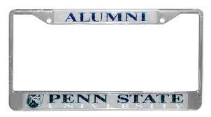 penn state alumni license plate penn state new logo alumni car frame souvenirs car accessories