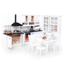 Dolls House Kitchen Furniture Online Get Cheap Miniature Kitchen Cabinets Aliexpress Com