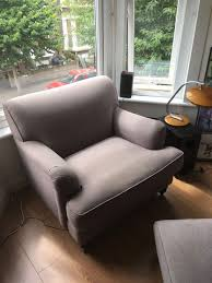 Made Armchair Made Armchair Orson Grey With Footstool In Hackney London Gumtree