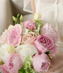 Wedding Flowers Pink Wedding Bouquet With Peonies Picure Weddings Eve