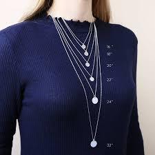 pendant necklace lengths images Necklace chain length jpg
