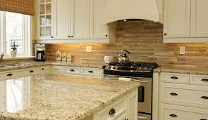 kitchen countertop and backsplash ideas fresh backsplash ideas for busy granite countertops 23103