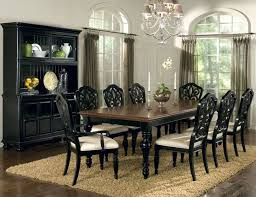 black dining table and hutch top modern black dining table and hutch pertaining to home remodel
