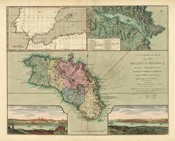Correct Map Of The World by Correct Map Of The Island Of Minorca By John Armstrong Esqr