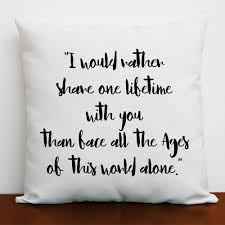 lotr romantic cushion cover lord of the rings decor lotr