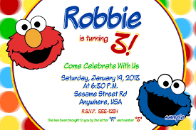 elmo online invitations cookie monster u0026 elmo birthday invitations sesame street diy