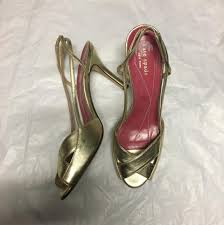 kate spade gold formal shoes from jossina garcia on tradesy