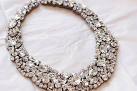 handmade statement necklace images Statement wedding jewelry bridal necklace etsy handmade 13 jpg