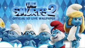 smurfs 2 3d live wallpaper