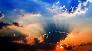 sun rays through clouds 6937804