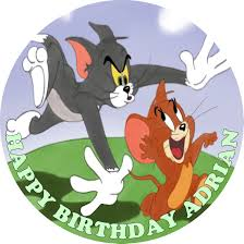 tom and jerry cake topper tom jerry edible cake topper