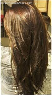 google layer hair styles thick straight layered hair back view google search hair