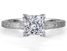 antique engagement ring settings princess engagement rings from mdc diamonds nyc