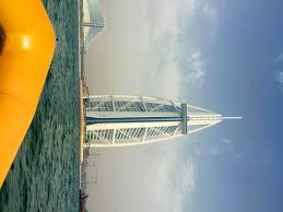 dubai u2013 burj al arab from sea frugal travel guy