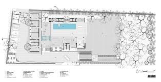 Gym Floor Plans by Gallery Of Tropical House Urveel Design Work Group 28