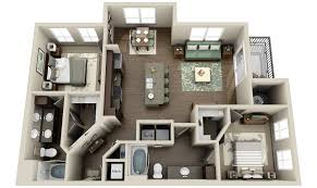 Studio Apartment Floor Plans Awesome 3d Apartment Floor Plans Gallery House Design Ideas
