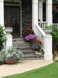 Porch Planter Ideas by Top 25 Best Porch Stairs Ideas On Pinterest Front Door Steps