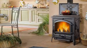 la nordica isotta wood burning stove with cooking plate
