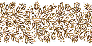 floral ribbon floral ribbon gold by yagellonica on deviantart