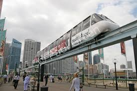 monorail darling harbour sydney wallpapers other types of transportation systems hobbiesphotographic