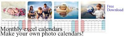excel calendar template free download
