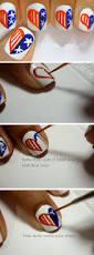 cartoon heart nail art design tutorial 18 amazing fourth of july nail art designs for teens blupla