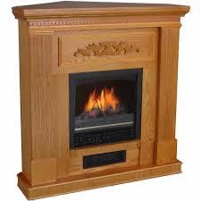 oak electric fireplace tv stand home design ideas