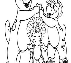 barney coloring pages printable barney color coloring pages