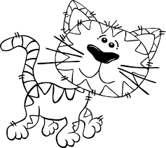 printable coloring pages kittens printable coloring sheets for kids 4745