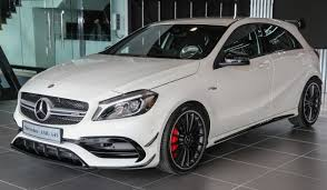 mercedes hp mercedes amg a45 facelift in m sia 381 hp rm349k