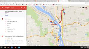 Portland Bike Maps by Gal By Bike When A Crazy Idea Becomes A Reality Aka My Bike