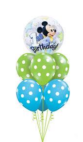 baby mickey 1st birthday baby mickey 1st birthday 2 balloon nation
