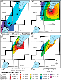 Map Of The Northeast Geosciences Free Full Text Aquifer Drawdown And Recovery In