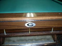 Gandy Pool Table Prices by Gandy Big G Parts Azbilliards Com
