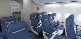 Southwest Airlines Interior Southwest Airlines Selects Seat For Future Boeing 737 800 And 737