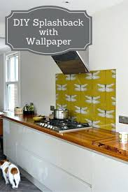 washable wallpaper for kitchen backsplash washable kitchen paint rapflava