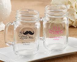 jar baby shower personalized 16 oz jar mug baby shower favors by kate aspen