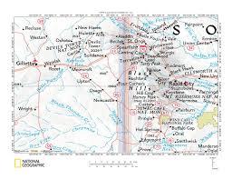 Beaver Creek Colorado Map by Inyan Kara Creek Stockade Beaver Creek Drainage Divide Landform