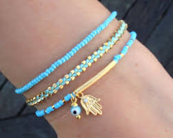 evil eye beaded bracelet images Evil eye beaded hamsa bracelet friendship bracelet evil eye jpg
