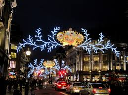 christmas comes to oxford street gallery of decorations and