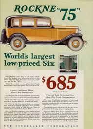 car brochures of yesterday 1932 rockne studebaker st albert u0027s