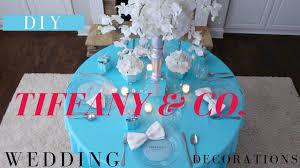 diy tiffany u0026 co wedding decor diy tiffany box centerpiece