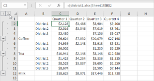 consolidate in excel easy excel tutorial