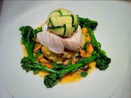 courgette cuisine cod courgette lattice and citrus mussels dining recipes
