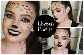 easy last minute cheetah look for halloween youtube