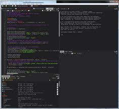 dark style for r studio ide u2013 rstudio support