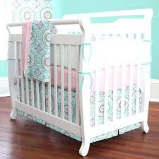 Pink And Aqua Crib Bedding Aqua And Pink Baby Bedding Aqua Baby Bedding Hamze
