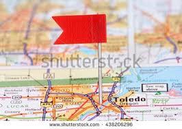 toledo ohio map toledo ohio stock images royalty free images vectors