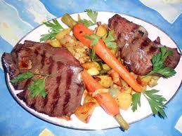 cuisiner coeur de boeuf recette de tranche de coeur de boeuf grillé a la paysanne